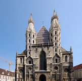 St. Stephens Cathedral, Vienna stock image