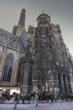 St. Stephens Cathedral Vienna stock photography