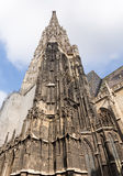 St Stephens Cathedral a Vienna Fotografia Stock