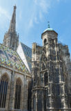 The St. Stephens Cathedral in Vienna, Austria. Royalty Free Stock Image