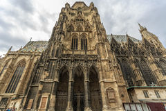The St. Stephens Cathedral Stock Images