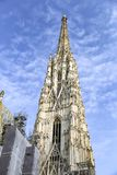 St Stephens Cathedral in Vienna, Austria royalty free stock photos