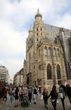St. Stephens Cathedral in Vienna Royalty Free Stock Photo