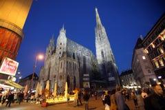 St. Stephens Cathedral in Vienna. Austria Vienna, St. Stephens Cathedral Stephansdom Royalty Free Stock Photos