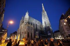 St. Stephens Cathedral in Vienna. Austria Vienna, St. Stephens Cathedral Stephansdom Stock Photo