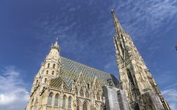 St Stephens Cathedral in Vienna, Austria royalty free stock images