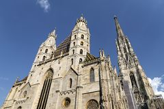 St Stephens Cathedral in Vienna, Austria royalty free stock photo