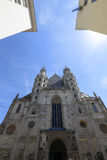 St Stephens Cathedral in Vienna Stock Image