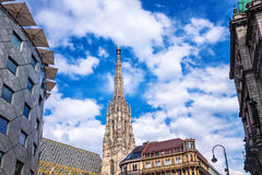 St. Stephens Cathedral Vienna Stock Photos