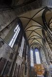 St Stephens Cathedral in Wenen stock foto's