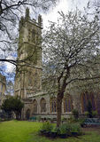 St. Stephens Church, Bristol. Garden of St. Stephens Church, Bristol City Centre Royalty Free Stock Image