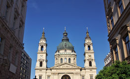 St. Stephens church in Budapest Stock Photography
