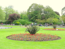 St. Stephens Green. In Dublin, Ireland Royalty Free Stock Photography