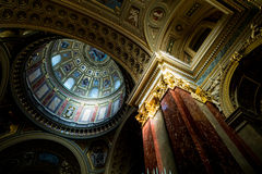 St Stephens interior Royalty Free Stock Photography