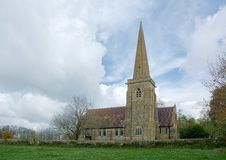 St Stephens kościół, Hammerwood, Sussex, UK zdjęcia royalty free