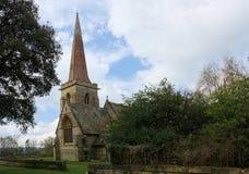 St Stephens kościół, Hammerwood, Sussex, UK obraz royalty free