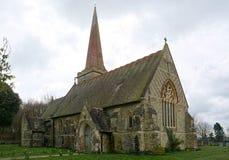 St Stephens kościół, Hammerwood, Sussex, UK zdjęcie stock