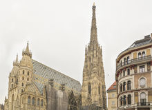 St. Stephens in Vienna parliament Stock Image