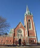 St Stepinac Kerk stock afbeelding