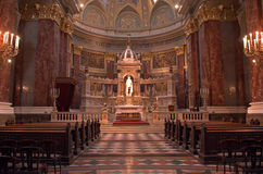 St. Steven Cathedral, Budapest, Hungary Royalty Free Stock Photography