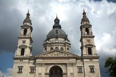 St Steven Cathedral, Budapest, Ungarn Stockfotografie