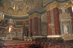 St Steven Cathedral, Budapest, Ungarn Stockbilder