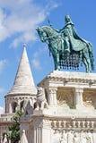 St. Steven Monument in Budapest Stock Photo