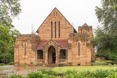 St storica James Anglican Church in Greytown immagini stock