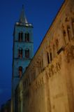 St. Stosija in Zadar. Tower of St. Stosija in Zadar Royalty Free Stock Image