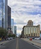 1st Straat, Phoenix de stad in, AZ; Exemplaarruimte Royalty-vrije Stock Afbeeldingen