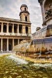 St Sulpise, Parigi Immagini Stock