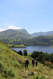 St Sunday Crag, Ullswater from Place Fell, Cumbria Royalty Free Stock Photos