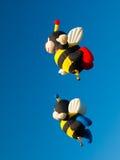 St sura Richelieu gorącego powietrza Baloon Cajgowy festiwal Zdjęcie Stock