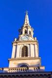 St Svala-i- fältkyrka i staden av Westminster london uk Royaltyfria Bilder