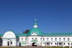 St Svir修道院亚历山大  免版税库存图片