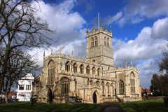 St Swithun's Church, Cannon Square, Retford Royalty Free Stock Photography