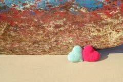 St Tema del día del `s de la tarjeta del día de San Valentín Amor a viajar imagen de archivo libre de regalías