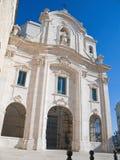St. Teresa Church. Trani. Apulia. Royalty Free Stock Image