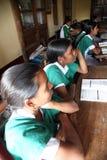 St. Teresa Girls Hihg School, Basanti, West-Bengalen Royalty-vrije Stock Afbeelding
