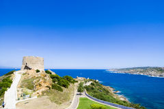 St. Teresa - Sardinia, Italy stock image