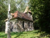 St.Terezie教堂从利雪的在捷克 库存图片