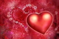 St. Textura do dia s do Valentim de '' ilustração royalty free