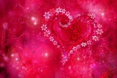 St. Textura do dia s do Valentim de '' ilustração do vetor