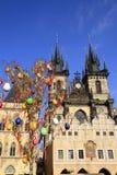 St. Teyn gothic cathedral, Prague Royalty Free Stock Photos