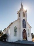 St Theresa de Avila dans la baie de Bodage, la Californie Photographie stock libre de droits