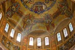 st therese för basilicafrance lisieux Arkivfoton