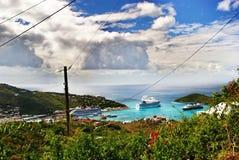 ST Thomas, αμερικανικοί Παρθένοι Νήσοι Στοκ Εικόνες