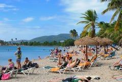 st thomas пляжа стоковая фотография rf