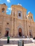 St. Thomas собора Кентербери, Marsala, Сицилии, Италии Стоковая Фотография