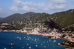 St Thomas. The bay of St Thomas, Us Virgin Islands Stock Photography